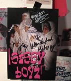 Autogrammkarte Sissy Boyz, Photo: Johanna Ahlert